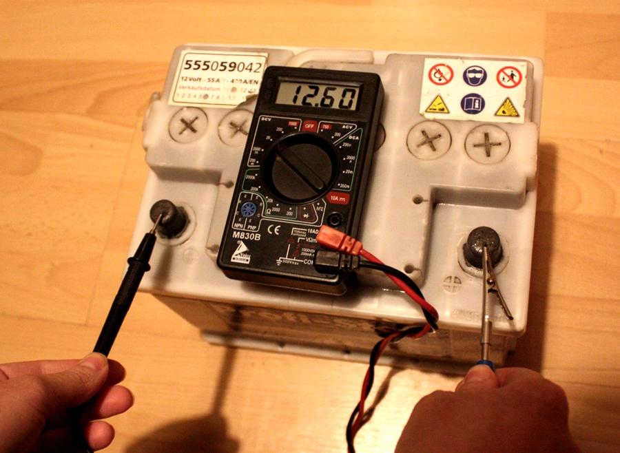 autobatterie messgerät