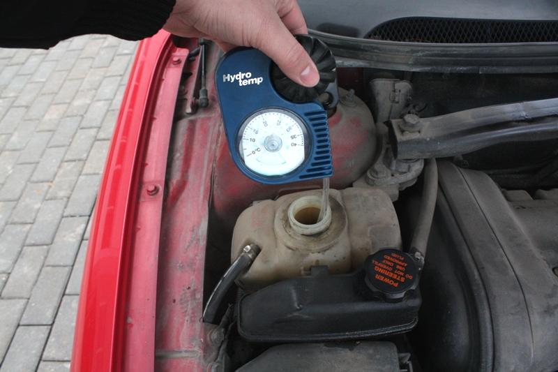 kühlwasser auto nachfüllen