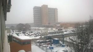 Aussicht aus dem Moskauer Büro