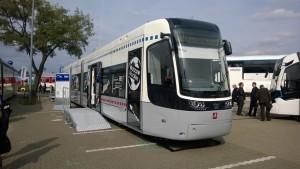 InnoTrans 2014 Berlin Pesa Tram Moskau