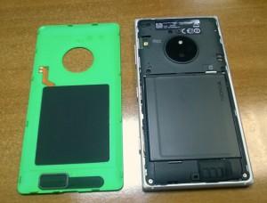 Lumia 830 offen