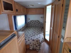 Wohnwagen Cabby C55 Elternbett