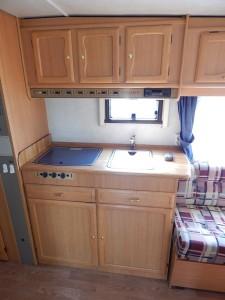Cabby C55 Wohnwagen Küchenzeile