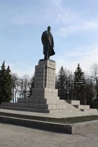 Lenin Statue Uljanowsk